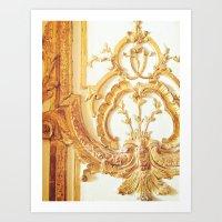 Gold Trimmings Art Print