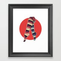 Ni Hachi Framed Art Print