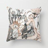 Chocced A Muffle Throw Pillow