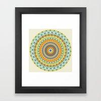 Mardi Gras Spin Framed Art Print