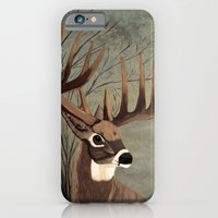 iPhone & iPod Case featuring Buck with big racks  by maggs326