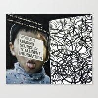 World's Leading Source Canvas Print