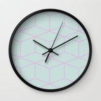 Cube! Wall Clock