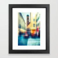Frauenkirche - Munich - … Framed Art Print