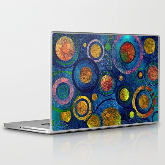 Full of Golden Dots - color variation Laptop & iPad Skin