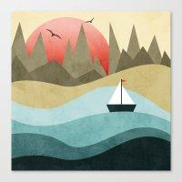 Ocean Adventure 2  Canvas Print