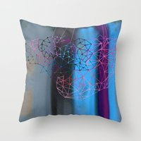 transparent evening Throw Pillow