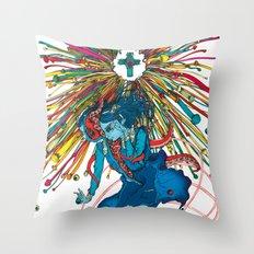 Saint Euphoria Throw Pillow