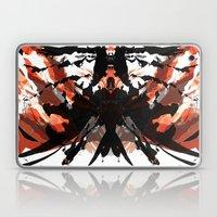 Rorschach Samurai Laptop & iPad Skin