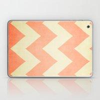 Fuzzy Navel - Peach Chev… Laptop & iPad Skin