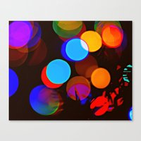 Twinkling Canvas Print