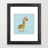 Framed Art Print featuring You Were Made For Me by Greg Abbott