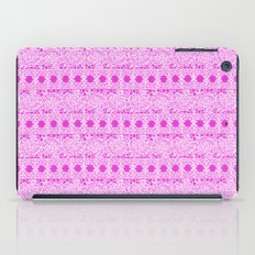 Lacey Lace - White Pink iPad Case