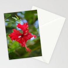 Scarlet Flower Stationery Cards