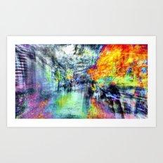 An other path to linger i.e. or heeding longer. 03 Art Print