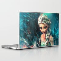 alice Laptop & iPad Skins featuring The Storm Inside by Alice X. Zhang