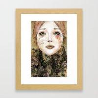 Indelicate Thorns Framed Art Print