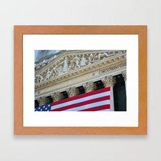 New York Stock Exchange Framed Art Print
