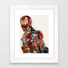 the ironman Framed Art Print