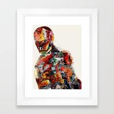 the ironman Framed Art Print