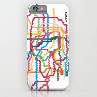 Tokyo Subway Map iPhone 6 Slim Case