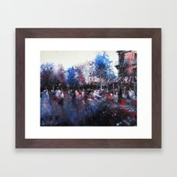 Paris Painting Framed Art Print
