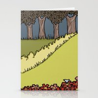 Flowers to Grass to Trees Stationery Cards