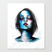Sail // Fashion Illustra… Canvas Print