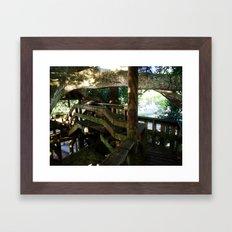 Tree house @ Aguadilla 5 Framed Art Print