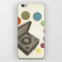 Pop Music iPhone & iPod Skin