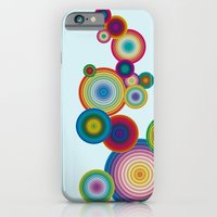 iPhone & iPod Case featuring Circles #1 by Alexis Kadonsky