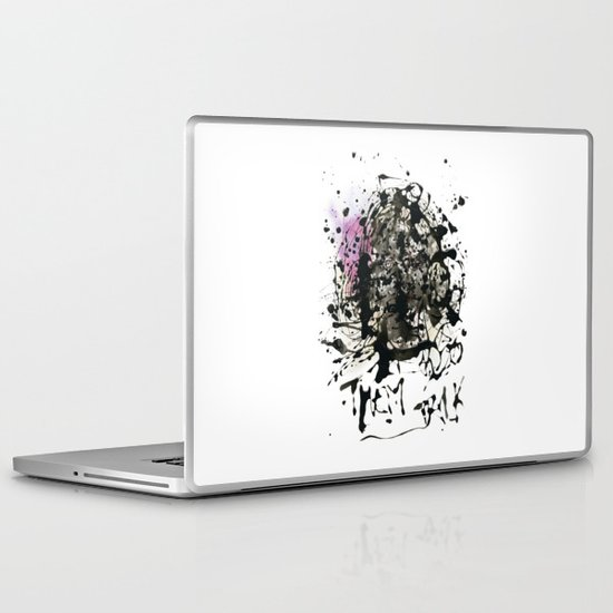 Let them talk Laptop & iPad Skin