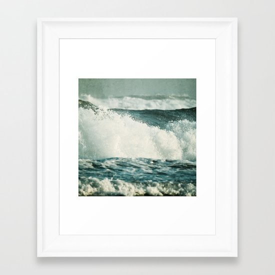 Splash ! Framed Art Print