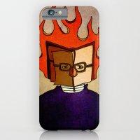 Prophets of Fiction - Ray Bradbury /Fahrenheit 451 iPhone 6 Slim Case