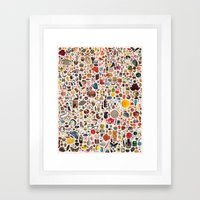 INDEX Framed Art Print