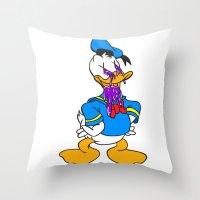 Donald! Throw Pillow