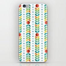 Simple flower Pattern iPhone & iPod Skin