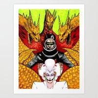The Final Golden Dawn Of… Art Print