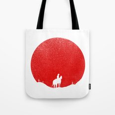 The Rising Sunset Tote Bag