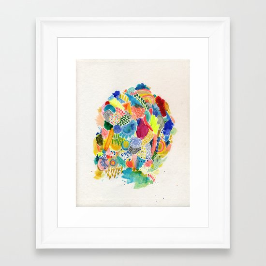 It's like a fucking awesome incredible dream Framed Art Print
