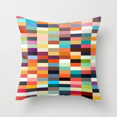 Pick a color Throw Pillow