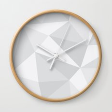 White Deconstruction Wall Clock