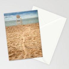 Sand Line Stationery Cards
