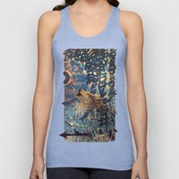 THE WOLF HOWLED AT THE S… Unisex Tank Top