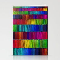Prismatic Rainbow (Rever… Stationery Cards