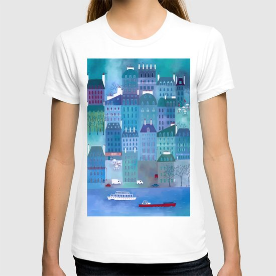 Paris Blues T-shirt