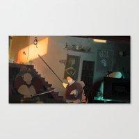 The Basement Dweller Canvas Print