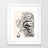 Errosion of Freedom Framed Art Print