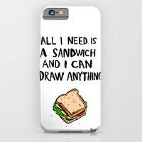 All I Need Is A Sandwich iPhone 6 Slim Case