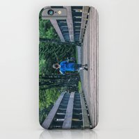 iPhone Cases featuring Camping bridge by Doug Dugas